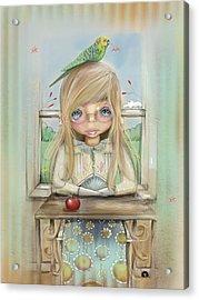 An Apple A Day Acrylic Print by Karin Taylor