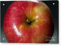 An Apple Acrylic Print by Dan Holm