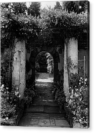 An Archway In The Garden Of Mrs. Carl Tucker Acrylic Print