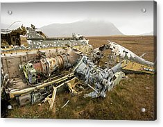 An Argentinian Puma Helicopter Acrylic Print by Ashley Cooper
