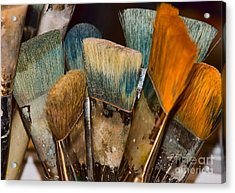 Acrylic Print featuring the photograph An Artist's Tools by Catherine Fenner