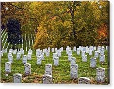 An Autumn Day In Arlington Acrylic Print