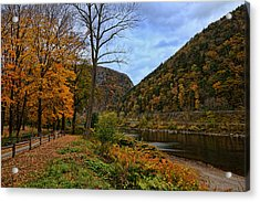 An Autumn Day Acrylic Print by Lanis Rossi