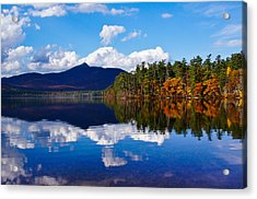 An Autumn Evening On Lake Chocorua Acrylic Print