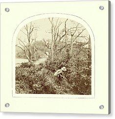 An Autumn Landscape, William Morris Grundy Acrylic Print