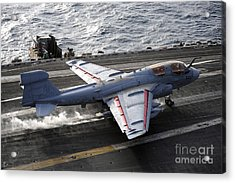 An Ea-6b Prowler Takes Acrylic Print by Stocktrek Images