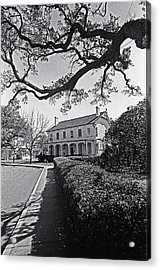 An Early American Home Acrylic Print by Thomas D McManus
