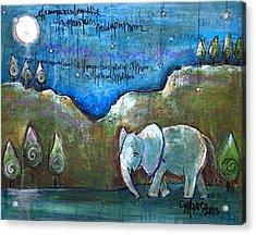 An Elephant For You Acrylic Print
