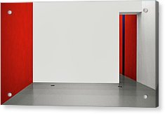An Empty Room Acrylic Print by Inge Schuster