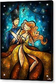 An Enchanting Evening Acrylic Print
