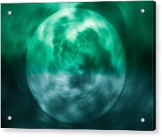 Acrylic Print featuring the photograph Green Energy by Kellice Swaggerty