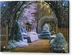 An English Garden Acrylic Print