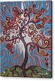 An Enlightened Tree Acrylic Print