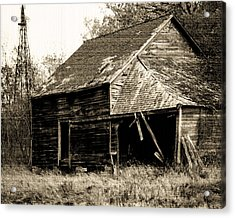 Acrylic Print featuring the photograph An Era Past by Maggy Marsh
