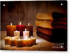 An Evening At The Spa Acrylic Print