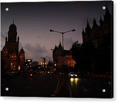 Acrylic Print featuring the photograph Mumbai by Salman Ravish