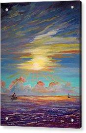 An Evening Sail Acrylic Print