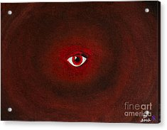 An Eye Is Upon You Acrylic Print by Stefanie Forck