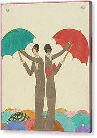 An Illustration For Vogue Magazine Acrylic Print