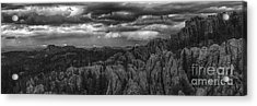 An Incoming Storm Over The Black Hills Of South Dakota Acrylic Print