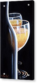 Acrylic Print featuring the painting An Indecent Proposal by Sandi Whetzel