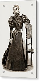 An Indoor Dress, 1897 Acrylic Print by Litz Collection