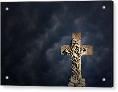 An Irish Cross Acrylic Print by Jim Zuckerman