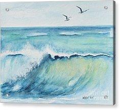 An Ocean's Wave Acrylic Print