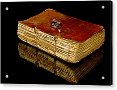 An Old Bible Acrylic Print by Tommytechno Sweden