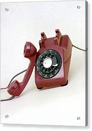 An Old Telephone Acrylic Print
