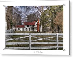 An Old White House Acrylic Print