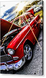 An Oldie But A Goody  Acrylic Print by Chris Mitchell