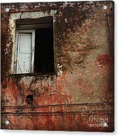 An Open Door Acrylic Print by H Hoffman