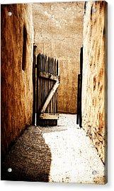 An Open Gate Acrylic Print