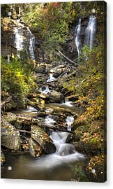 Ana Ruby Falls In Autumn Acrylic Print