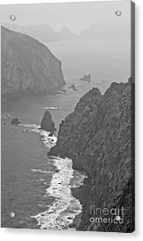 Acrylic Print featuring the photograph Anacapa Mist by Jeff Loh