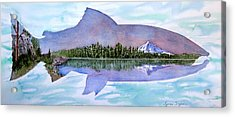 Anadromous Dreams Acrylic Print by Lynee Sapere