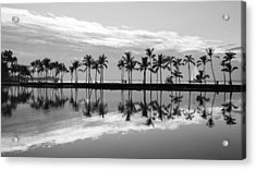 Acrylic Print featuring the photograph Anaehoomalu Bay by Scott Rackers