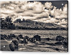 Anahola Mountains Acrylic Print by Robert  FERD Frank