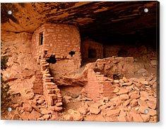 Anasazi Ruins At Comb Ridge Acrylic Print