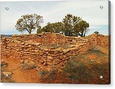 Anasazi Ruins Southern Utah Acrylic Print by Jeff Swan