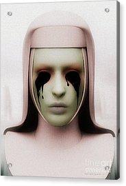 Anathema Acrylic Print by Sandra Bauser Digital Art