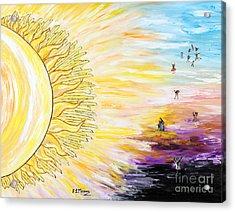 Anche Per Te Sorgera' Il Sole Acrylic Print