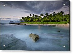 Anchor Of The Sea At Koolina Acrylic Print