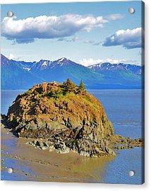 Anchorage Alaska Acrylic Print by Dacia Doroff