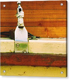 Anchored Acrylic Print by Jacob Cane