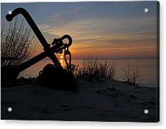 Anchored Acrylic Print by Sandra Updyke