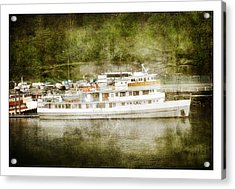 Acrylic Print featuring the photograph Anchors  Away by Davina Washington