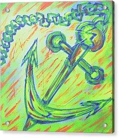 Anchor's Away Acrylic Print