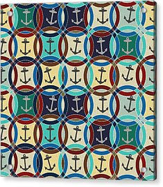 Anchors Acrylic Print by Sharon Turner